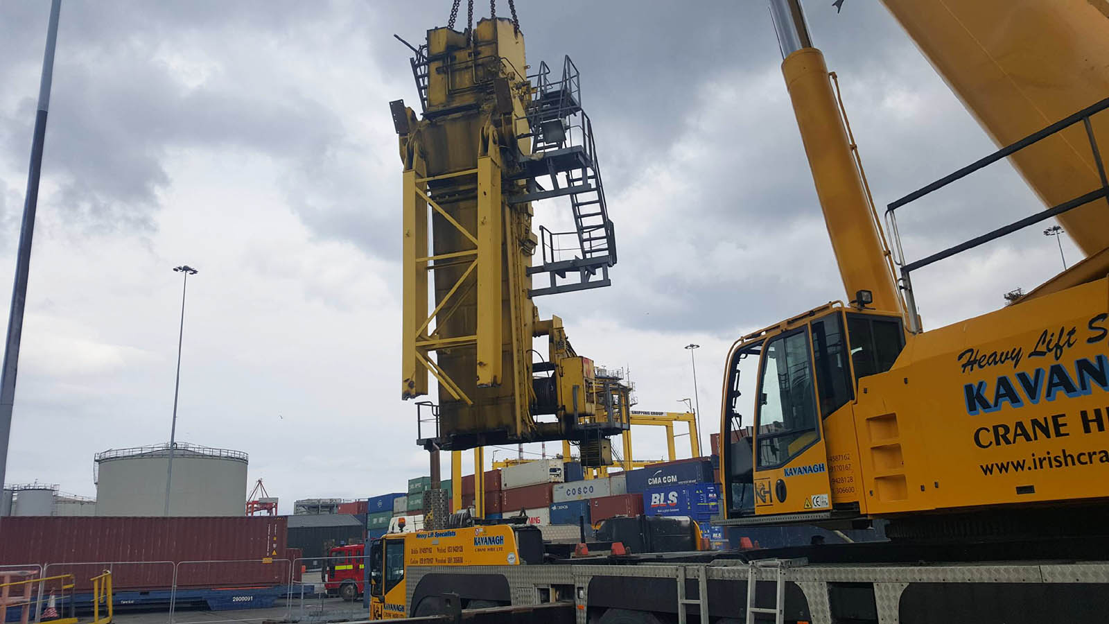 crane dismantling service waterford